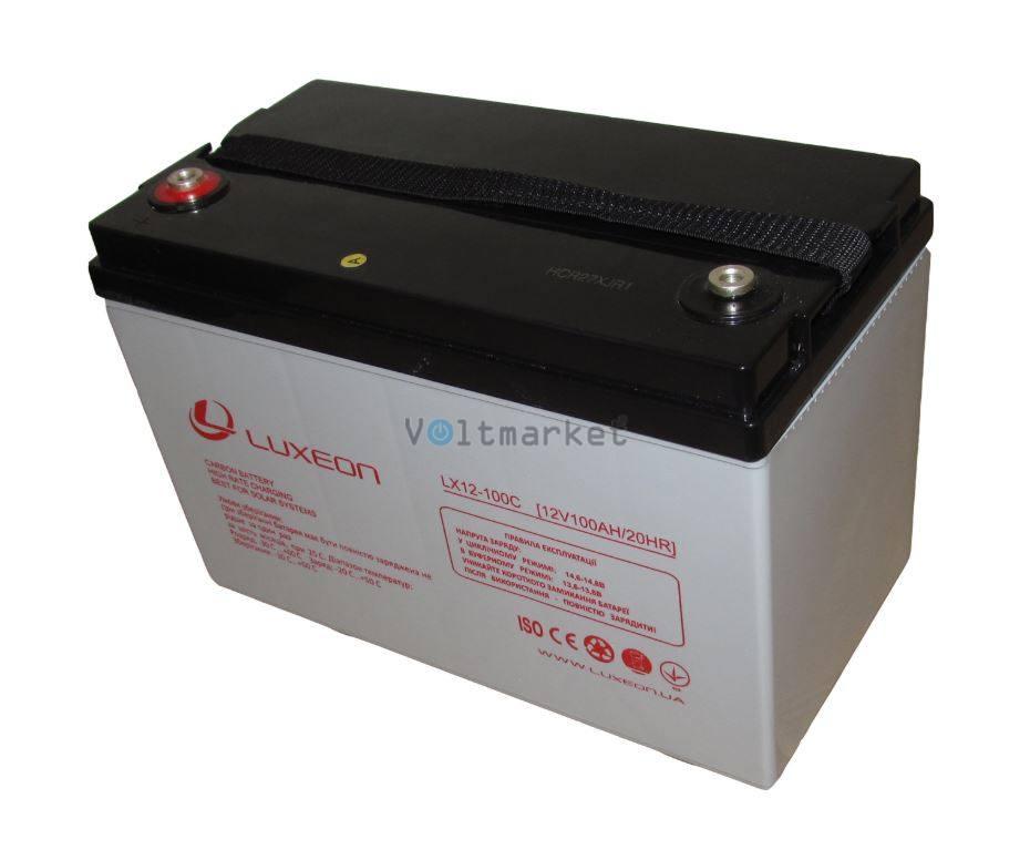 Карбоновый аккумулятор Luxeon LX12-100C