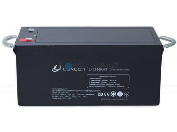 Аккумуляторная батарея LUXEON LX12-260MG