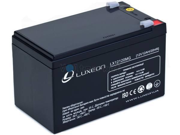 Аккумуляторная батарея LUXEON LX1212MG