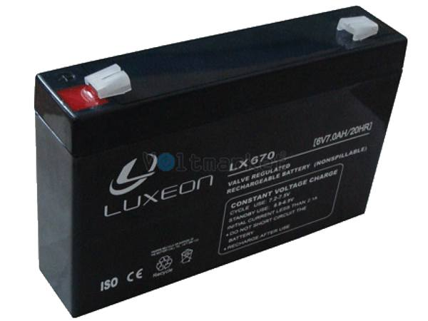 Аккумуляторная батарея LUXEON LX6-7
