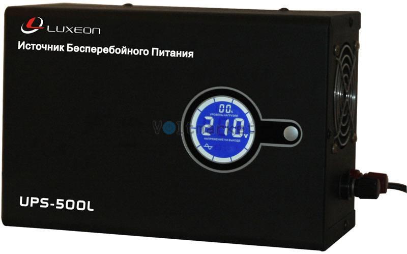 ИБП Luxeon UPS-500L