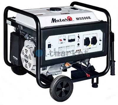 Бензиновая электростанция Matari M5500E