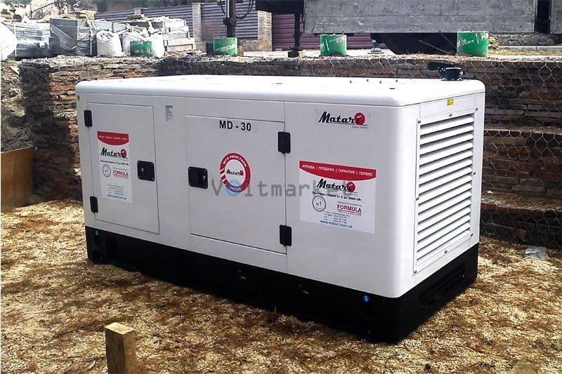 Дизельная электростанция Matari MD30