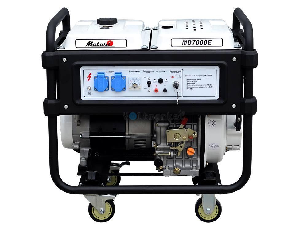 Дизельная электростанция Matari MD 7000E