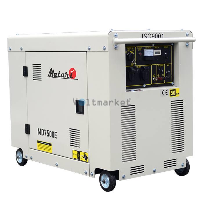 Дизельная электростанция Matari MD 7500E
