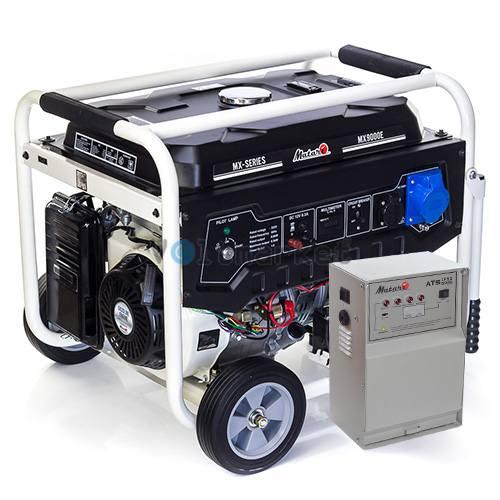 Бензогенератор Matari MX9000E ATS