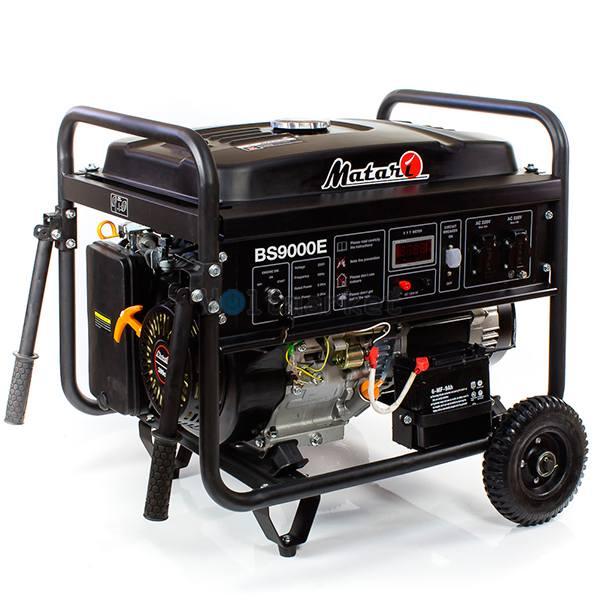 Бензиновая электростанция Matari BS9000E-ATS
