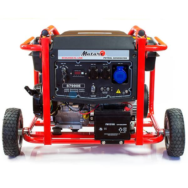 Бензиновая электростанция Matari S7990E-ATS
