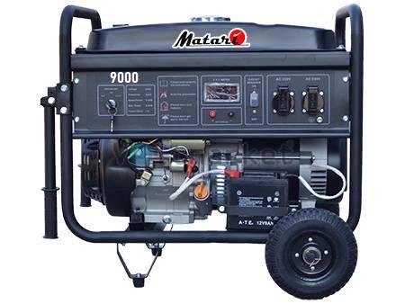 Бензиновая электростанция Matari 9000 Black