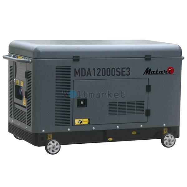 Дизельная электростанция Matari MDA12000SE3