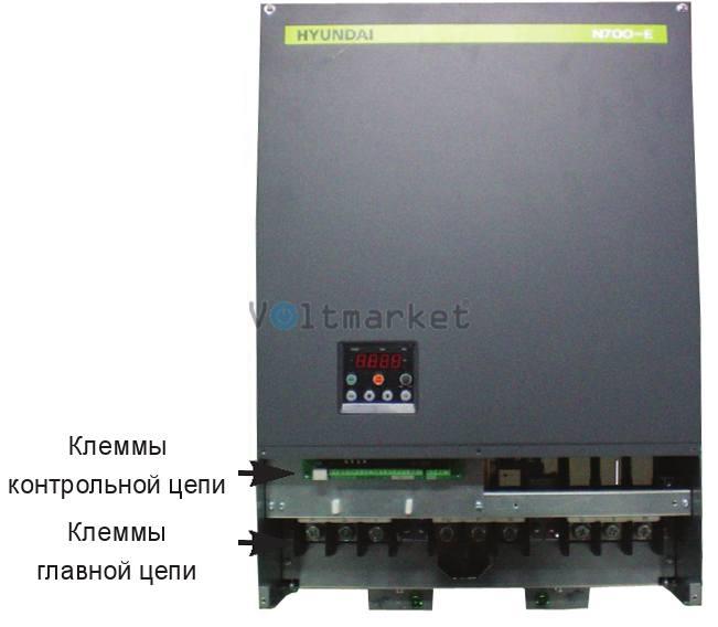 Преобразователь частоты Hyundai N700Е-370HF/450HFP