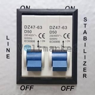 однофазный стабилизатор напряжения NTT Stabilizer SOHO 1120