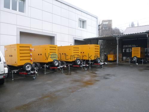 Дизельная электростанция  KJ POWER 5KJR175