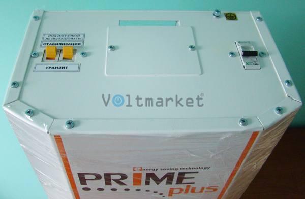 Однофазный стабилизатор напряжения PRIME PLUS СНТО-18000 wide