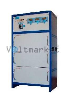 Трёхфазный стабилизатор напряжения RETA ННСТ-3х25000 FLAGMAN