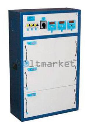 Трёхфазный стабилизатор напряжения RETA ННСТ-3х25000 SHTEEL