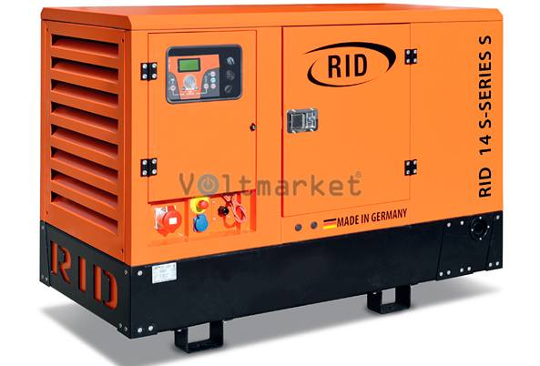 Дизельная электростанция RID 14 S-SERIES 500 L