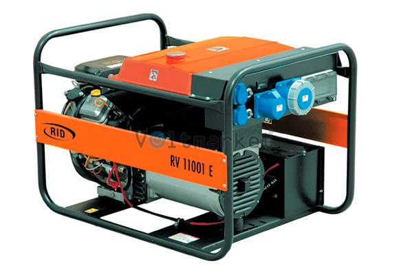 Бензиновая электростанция RID RV 11001 E