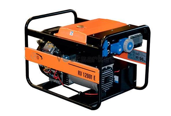 Бензиновая электростанция RID RV 12001 E