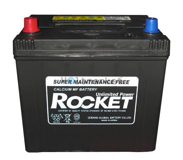 Автомобильные стартерные батареи Rocket 6СТ-65 SMF 75D23R L+
