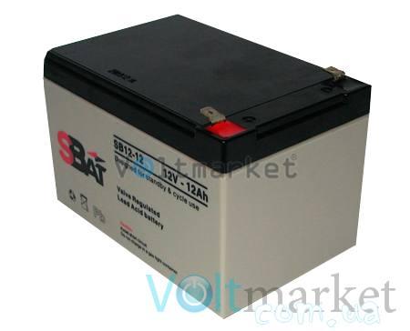 Аккумуляторные свинцово-кислотные батареи StraBat SB 12-12