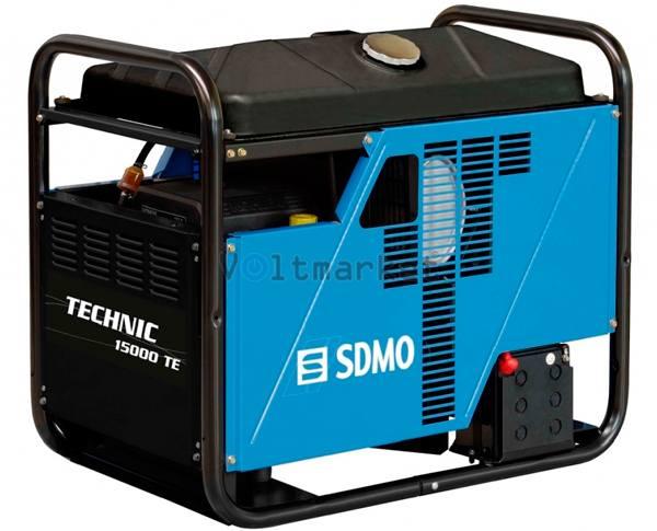 Трехфазный дизельный генератор SDMO