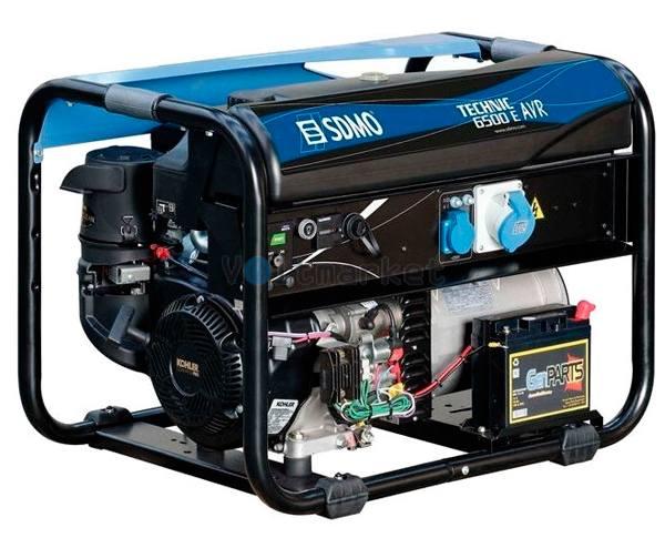 Бензиновый генератор SDMO Technic 6500 E AVR M