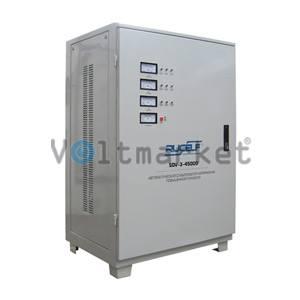 стабилизатор напряжения трехфазный RUCELF SDV-3-45000
