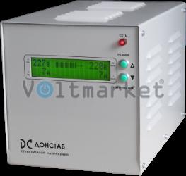 Электронный однофазный стабилизатор напряжения Донстаб СНПТО-1,3