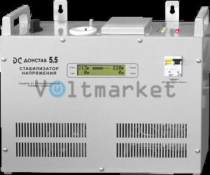 Электронный однофазный стабилизатор напряжения Донстаб СНПТО-5,5 РД