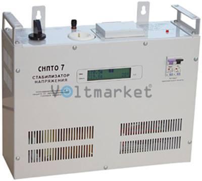 Однофазный симисторный стабилизатор напряжения Volter СНПТО-7у
