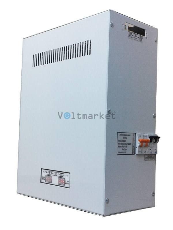 Электронный стабилизатор напряжения СигмаВольт УСН-18-09с