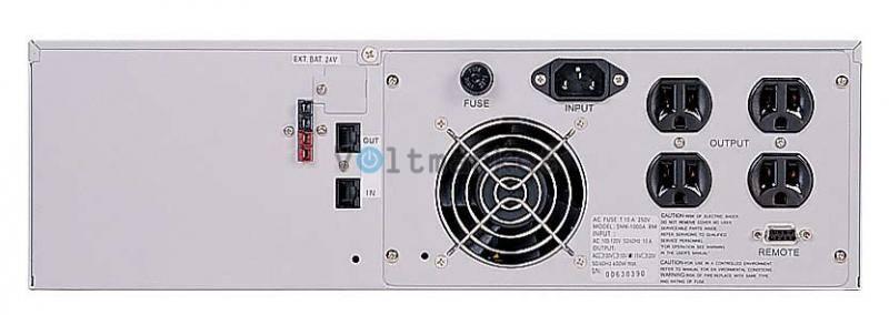 Источник бесперебойного питания Powercom SMK-1000A-RM LCD