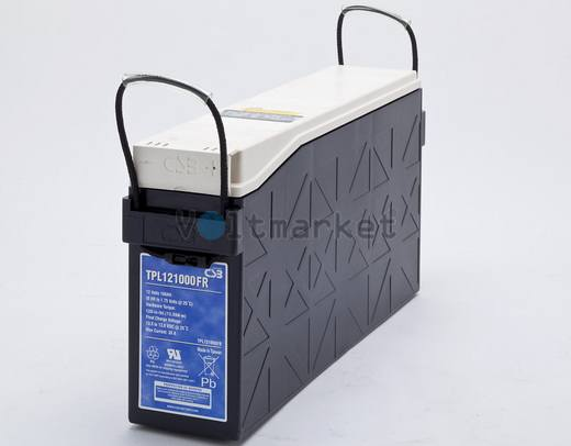 Аккумуляторная герметизированная свинцово-кислотная батарея TPL121000