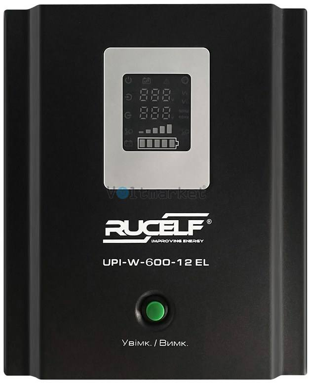 Источник бесперебойного питания RUCELF UPI-W-600-12 EL 350W