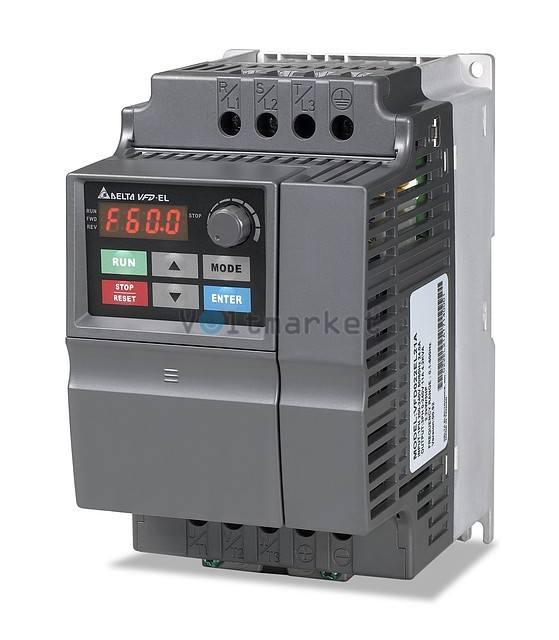 Преобразователь частоты Delta Electronics VFD015EL43A