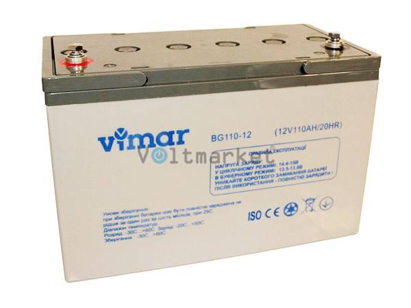 Аккумуляторная батарея VIMAR BG110-12