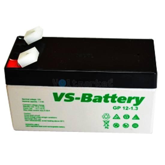 Аккумуляторные свинцово-кислотные батареи VS-Battery VS GP12-1,3