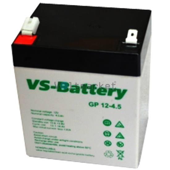 Аккумуляторные свинцово-кислотные батареи VS-Battery VS GP12-4,5