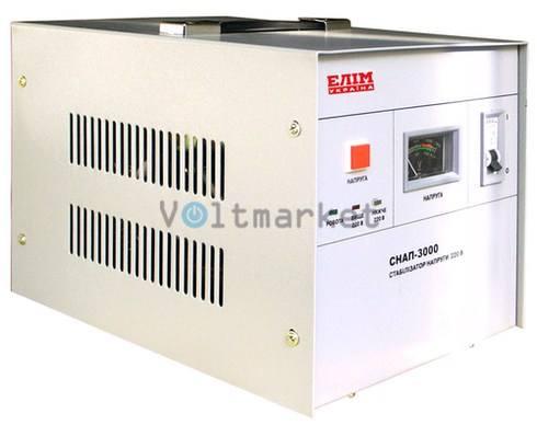 Стабилизатор напряжения однофазный ELIM СНАП-3000