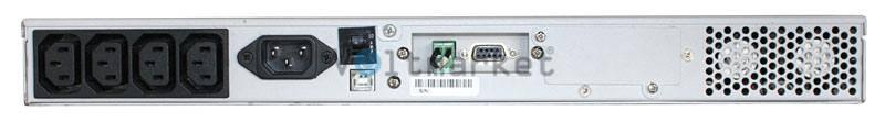 Источник бесперебойного питания Powercom VGD-700-RM (1U)