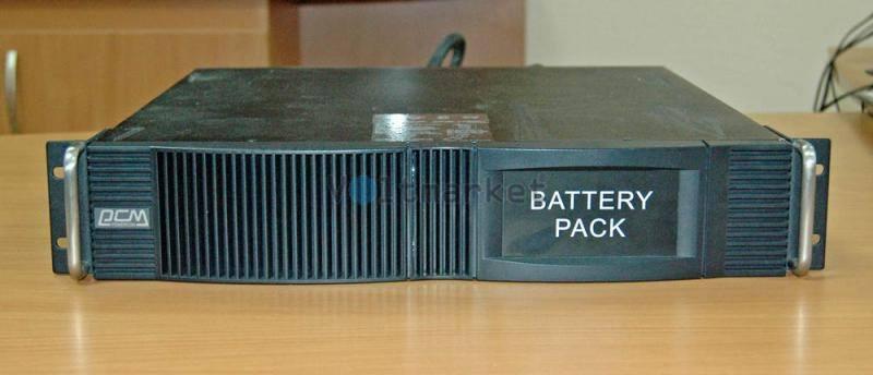Источник бесперебойного питания Powercom VGD-2000-RM (2U)