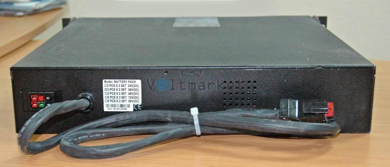 Источник бесперебойного питания Powercom VGD-700-RM (2U)