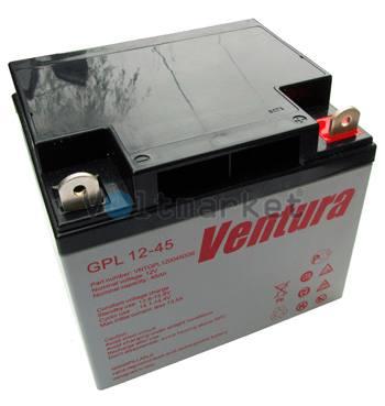 Аккумуляторные батареи Ventura GPL 12-45