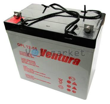 Аккумуляторные батареи Ventura GPL 12-55