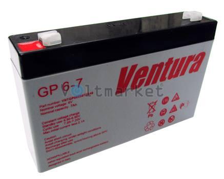 Аккумуляторные батареи Ventura GP 6-7