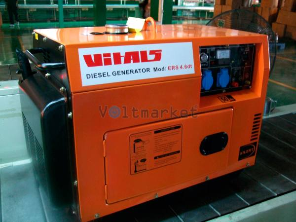 Дизельная электростанция VITALS ERS 4.6dt