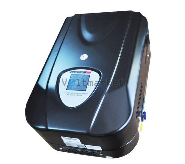 Релейный однофазный стабилизатор напряжения LUXEON WDR-12000