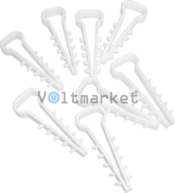 Крепеж Елочка 12х5 мм плоский 3