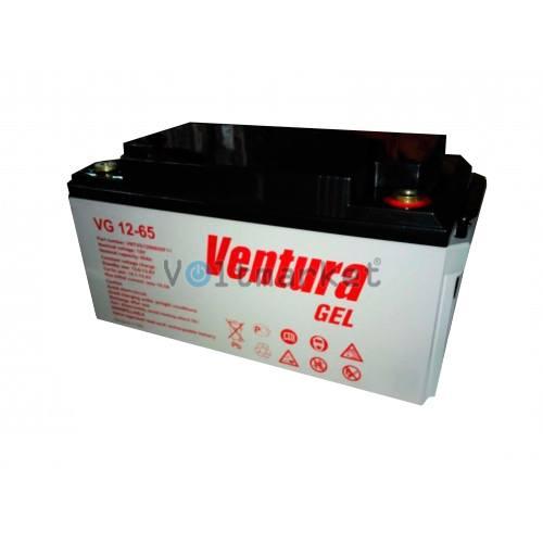 Гелевая аккумуляторная батарея Ventura VG 12-65 GEL
